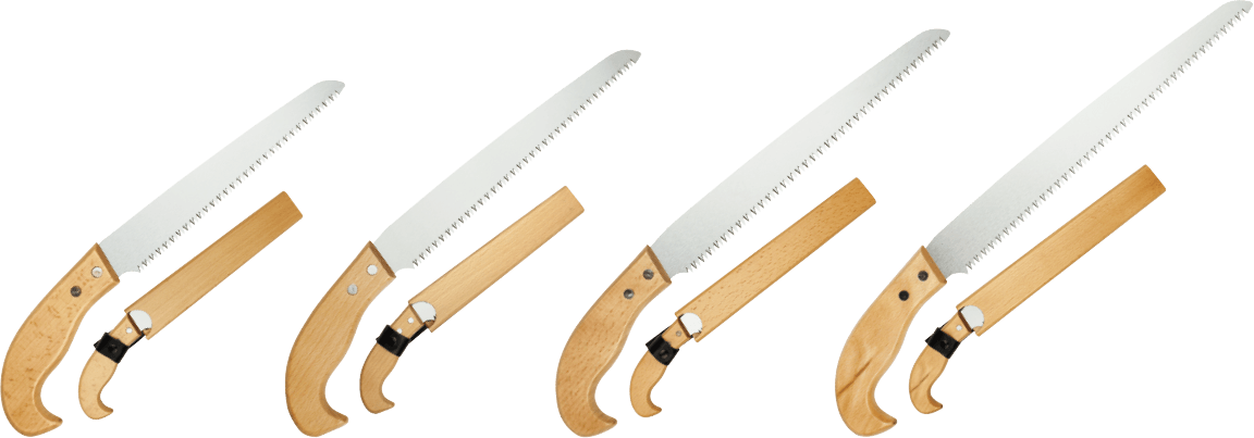 With wooden sheath