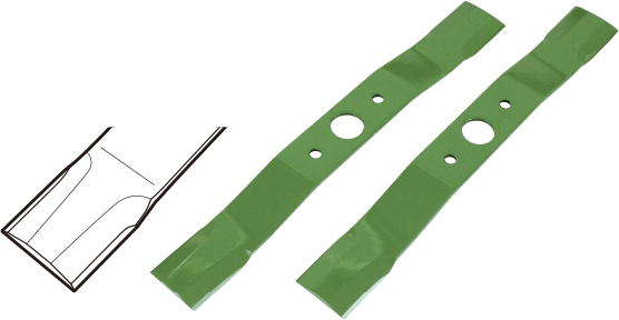 Spare blade for hammer knives 355mm